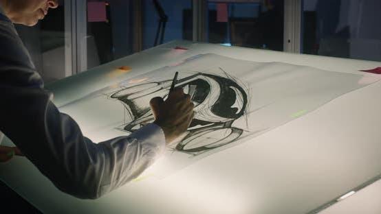 Thumbnail for Car Designer in Work