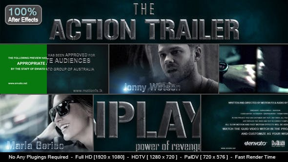 Thumbnail for Action Trailer