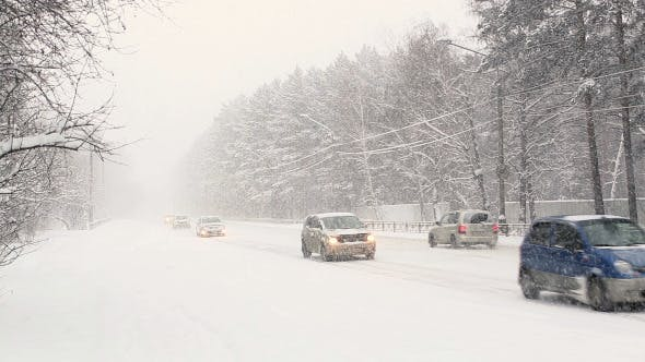 Thumbnail for Movement of Vehicles in Difficult Weather Conditions