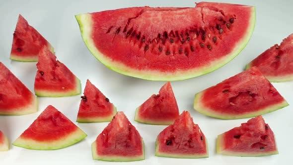 Juicy Colorful Watermelon