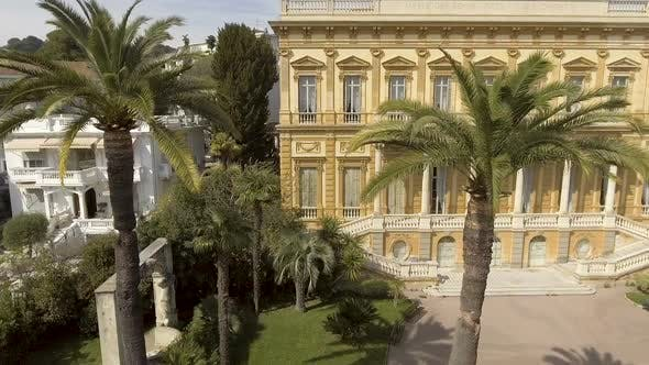 Thumbnail for Facade of Fine Arts Museum Building in Nice Surrounded by Greenery, Architecture