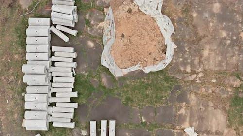 Betonrohre zum Bau von Entwässerungssystemen auf großen Zementabflussrohren