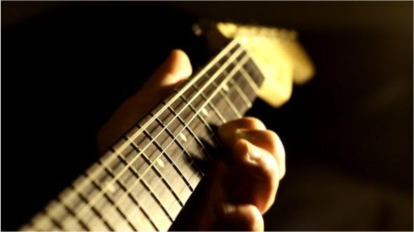 Thumbnail for Strings and Neck of Guitar