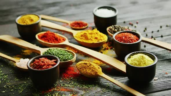 Thumbnail for Bowls and Spoons with Spices