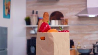 Vegetables in Paperbag