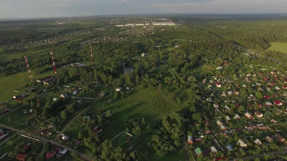Thumbnail for Flying Over Dacha Communities in Russia