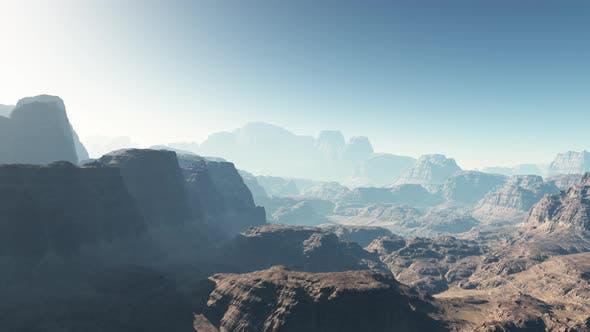 Thumbnail for Flying On Mars Mountain 06 4K