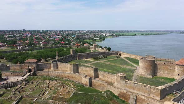 Thumbnail for Ancient Akkerman Fortress at Belgorod-Dnestrovsky, Odessa, Ukraine