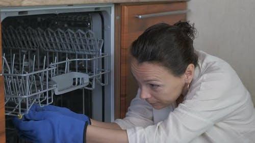 Dishwasher repair.