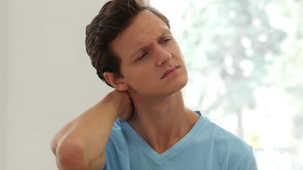 Thumbnail for Pain in Neck, Man with Injury