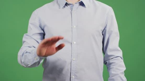 Thumbnail for Eine Hand winkt