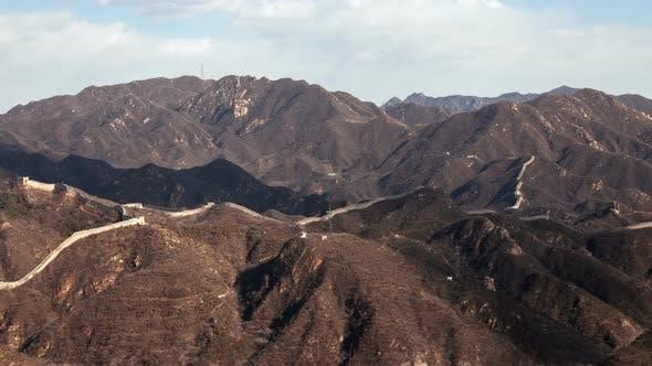 Thumbnail for Great Wall of China Badaling Timelapse Pan Up