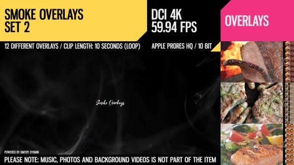 Thumbnail for Smoke Overlays (4K Set 2)