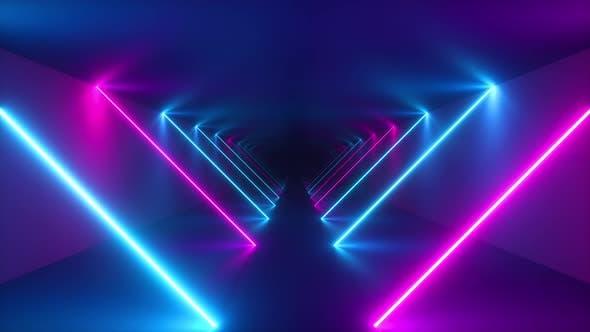 Thumbnail for Fliegen im endlosen Tunnel mit Laserstrahlen.