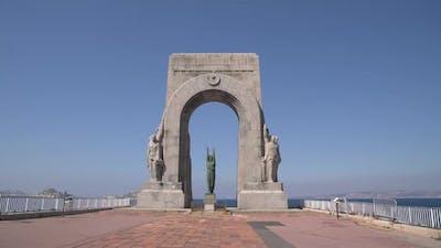 The War Memorial in Marseille