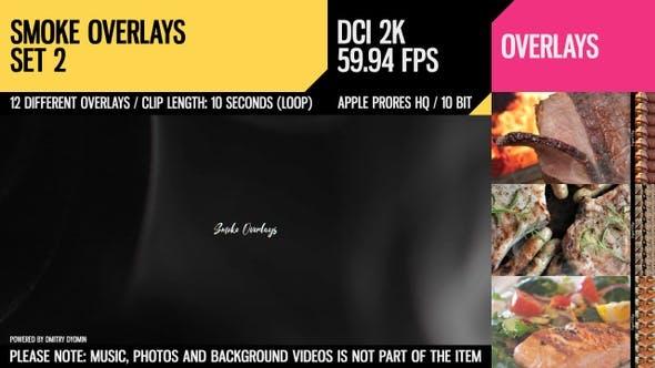 Thumbnail for Smoke Overlays (2K Set 2)