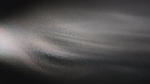 Abstract Black And White Particles Background