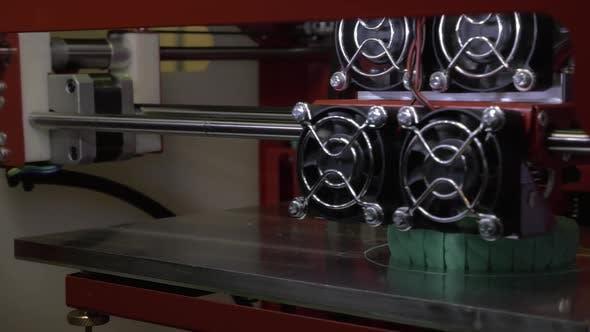 Thumbnail for 3D Printer Working on Printing Womens Bracelet