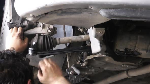 Thumbnail for Auto Repair Master Change Car Axle