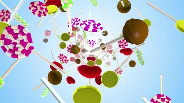 Lollipops Candy 01 4k