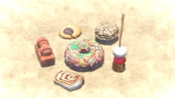 Sweet Cake Stop Motion