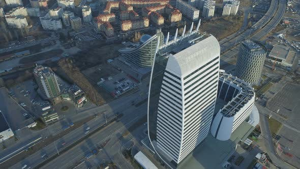 Thumbnail for Modern Arcitecture Office Building in Sofia, Bulgaria