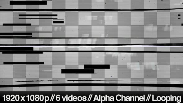 Thumbnail for Digital TV Signal Distorted Noise & Glitch Overlay