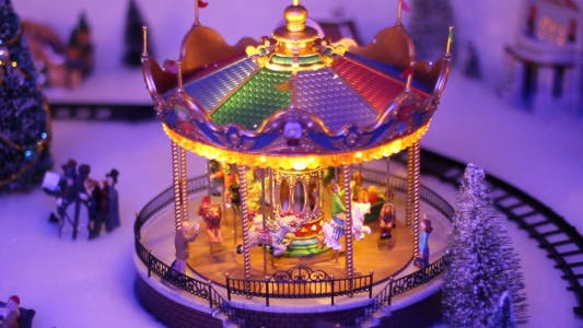 Cover Image for Toy Carousel Background