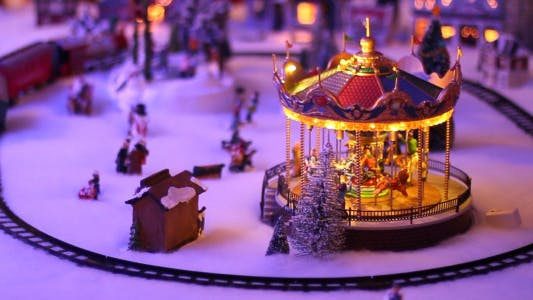Cover Image for Toy Carousel Background 3