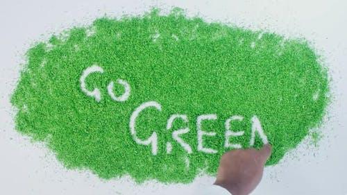 Green Writing   Go Green