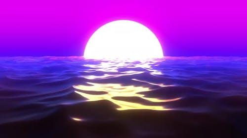 Retro Sunset 04