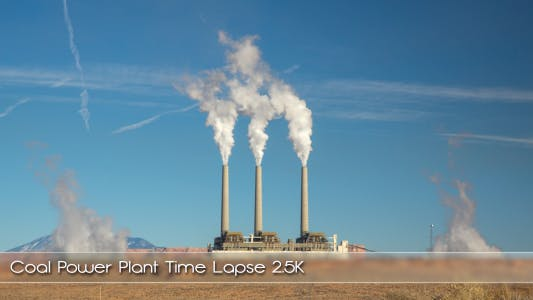 Coal Power Plant Time Lapse
