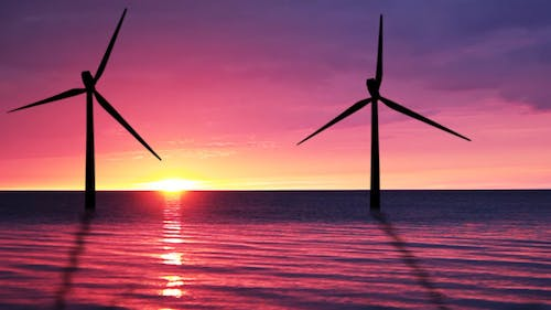 Wind Power At Sea