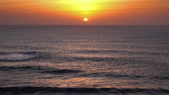 Thumbnail for Beauty Landscape with Sunset Over Sea