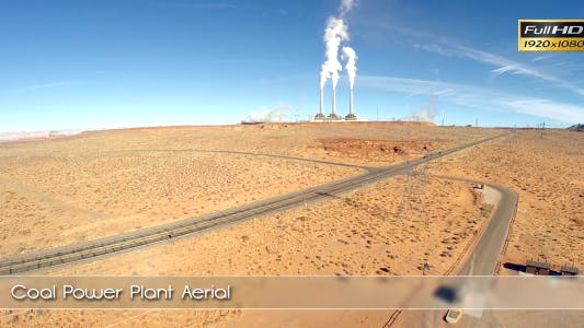 Thumbnail for Coal Power Plant Aerial