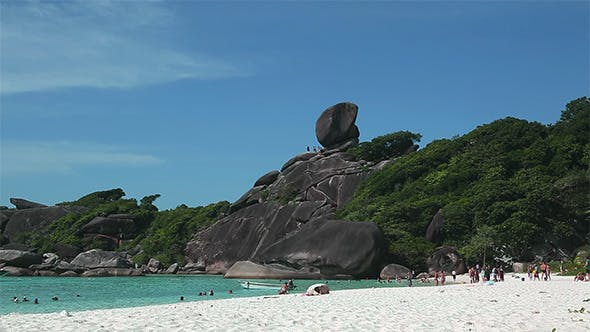 Thumbnail for Sail Rock on Similan Beach