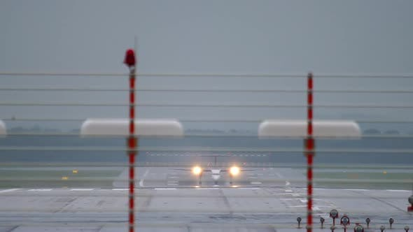 Thumbnail for Turboprop Aircraft Accelerate Before Departure