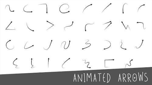 Animierte Pfeile