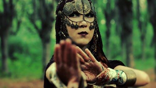 Mystical Woman Dancing Short Montage