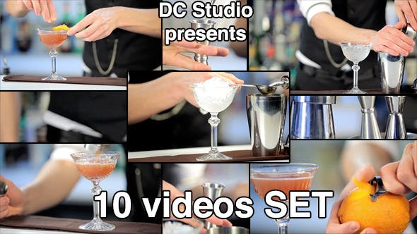 Thumbnail for Night Club Cocktail Preparation (10-Pack)