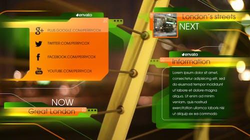 Green Orange Broadcast Package