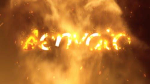 Fire Logo Reveal 02