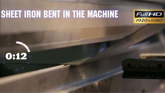 Thumbnail for Sheet Iron Bent in the Machine