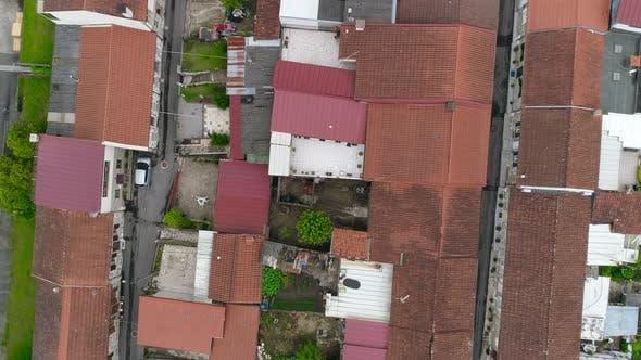 Slum Houses Aerial