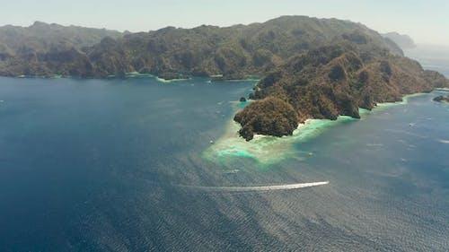 Tropical Island Busuanga Palawan Philippines