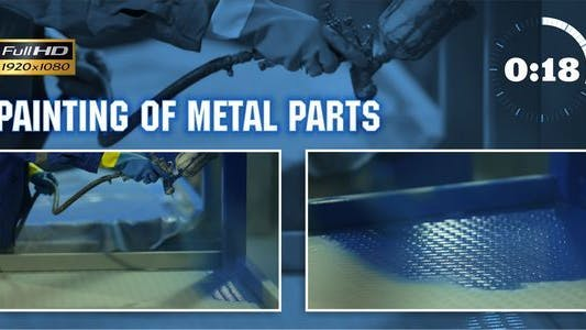 Thumbnail for Painting of Metal Parts 1