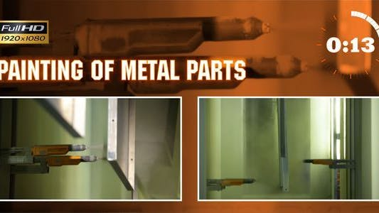 Thumbnail for Painting of Metal Parts 2