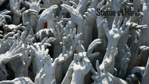 Statue Of Hand