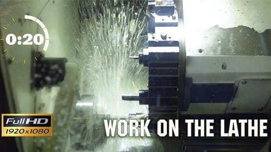 Thumbnail for Work on the Lathe 3