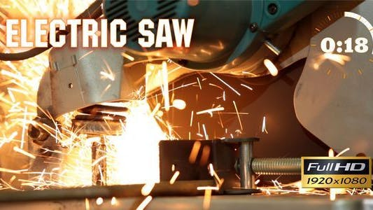 Thumbnail for Electric Saw 1